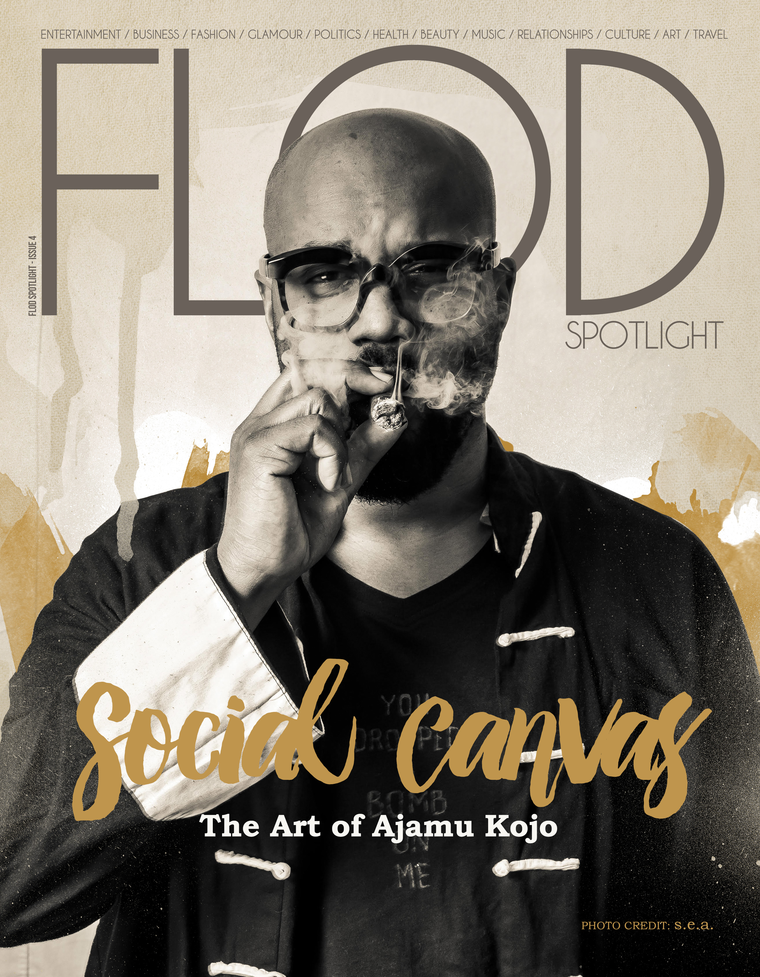 Issue 4 – Social Canvas: The Art of Ajamu Kojo
