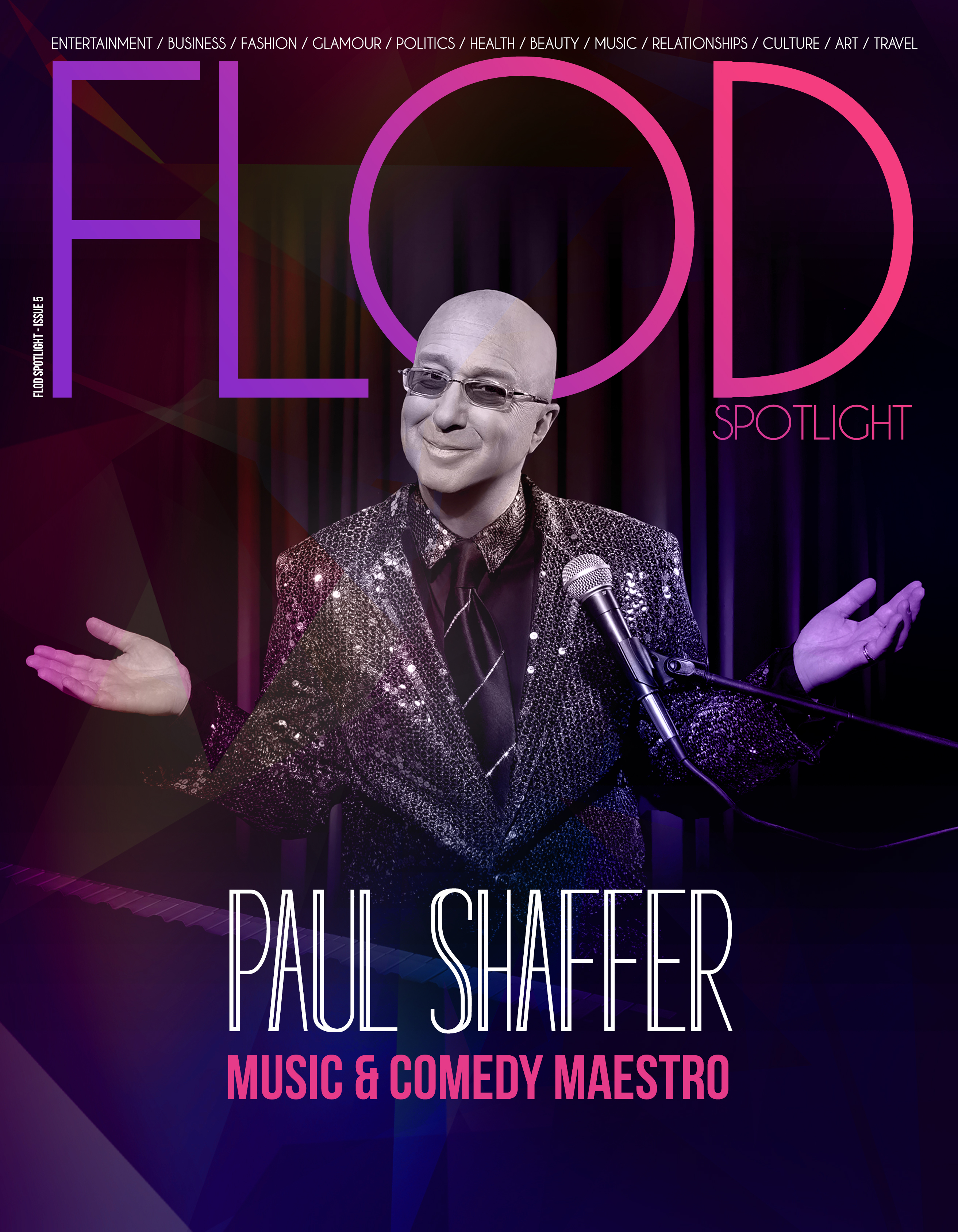Issue 5 – Paul Shaffer: Music and Comedy Maestro